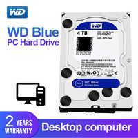 WD Western Digital Blue 4TB 3.5'' Desktop Hdd Sata Internal Hard Disk Harddisk Hard Drive Disque Dur Desktop HDD for PC