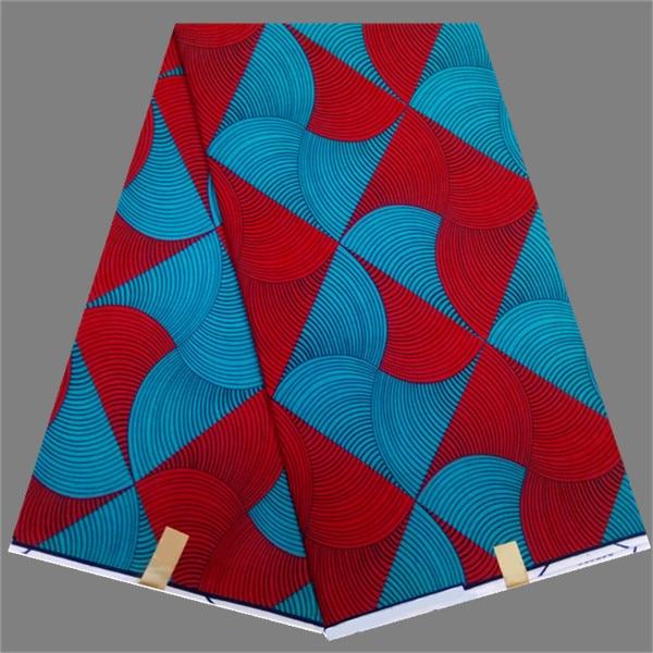 Excellent Pattern Cotton Batik Wax Fabric For Fashion