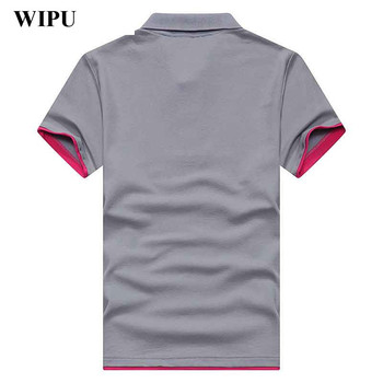 2019 Summer Men Polo Shirt Curry 30 Styl...