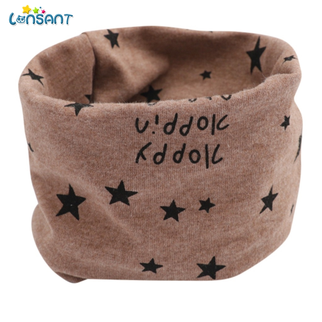 LONSANT Cotton Baby Scarf Kid Boys Girls Cartoon Pattern Stitching O-ring Scarf Neck Warmer Autumn Winter Baby Bibs Neck ScarvesLONSANT Cotton Baby Scarf Kid Boys Girls Cartoon Pattern Stitching O-ring Scarf Neck Warmer Autumn Winter Baby Bibs Neck Scarves