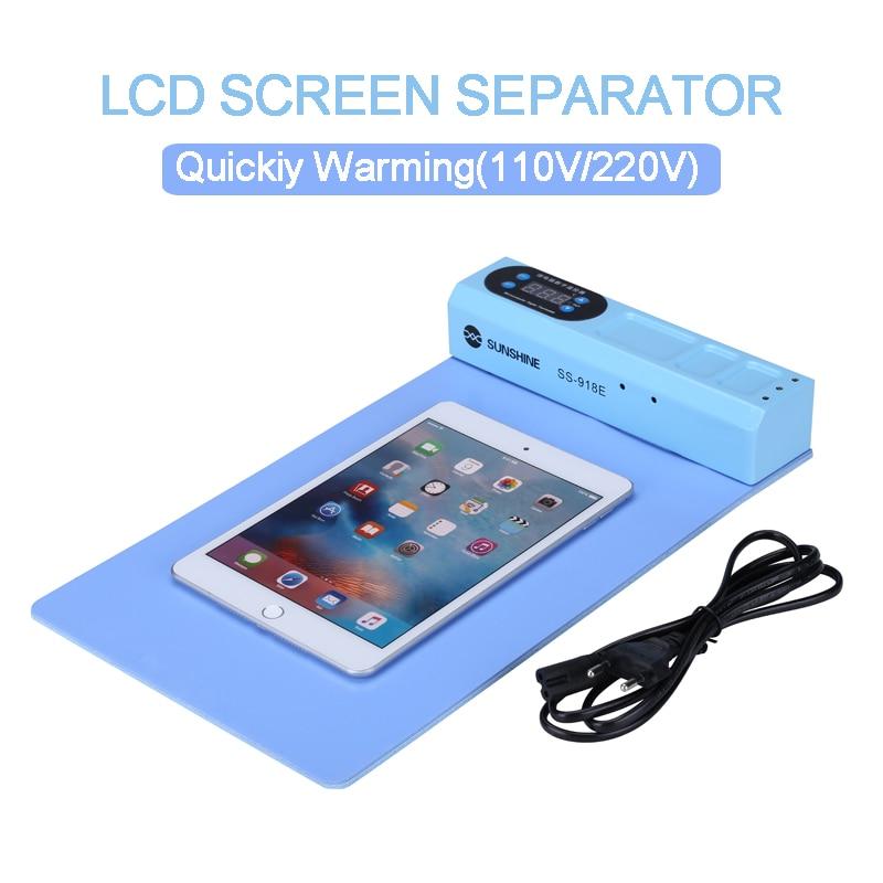 La plus nouvelle Machine de séparateur de plaque chauffante de séparateur d'ouverture d'écran d'affichage à cristaux liquides pour l'iphone Samsung outil de réparation de tablette d'ipad de téléphone portable