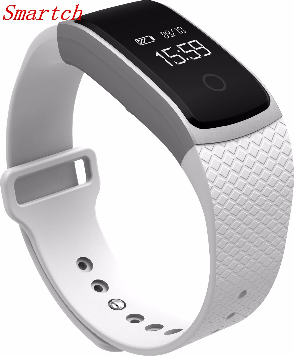 Smartch A09 Smart Band Smartband Blood Pressure Monitor Heart Rate Meter Pedometer Wristband Fitness Bracelet for