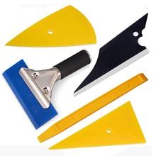 EHDIS 5PCS Professional Vinyl Film Wrap Tool Kit Auto Window Tint Bluemax Squeegee Car Tinting Tools Foile Edge Wrapping Scraper