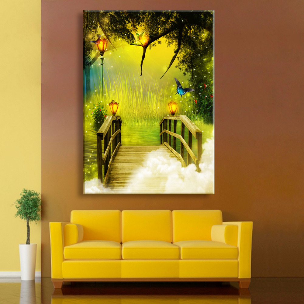 Magnificent Small Canvas Wall Art Component - The Wall Art ...