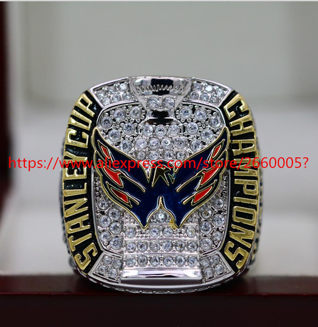 314d5c93fbf 2018 Washington Capitals NHL Stanley Cup Championship ring Size 7 to 15 s  Best gift