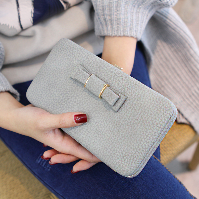 Նորաձևության կանայք դրամապանակ - Բջջային հեռախոսի պարագաներ և պահեստամասեր - Լուսանկար 3