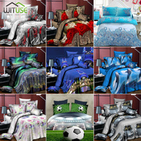3D BEDDING SET DOLPHIN PRINT DUVET COVER LIFELIKE BEDCLOTHES WITH PILLOWCASE Soft and breathable fabric for household products