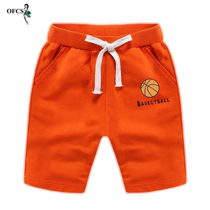 New Summer Thin Children Wear Shorts Boy Baby Elastic Pants Solid Color Cotton 18m-12T Teenager children's Casual Sport Trousers