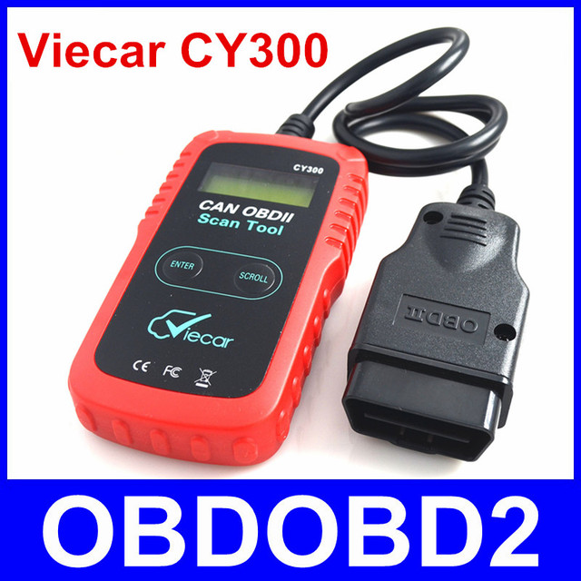 100% Original Viecar CY-300 CY300 OBDII OBD2 Auto Diagnostic Code Reader Scan Tool Suporta Todos Os Protocolos de OBDII Navio Livre