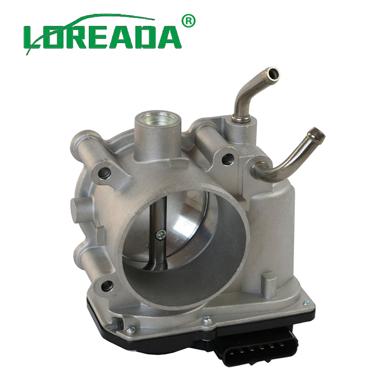 LOREADA 351002E000 New Throttle Body Assembly For Hyundai Tucson Elantra Kia Soul Rondo Forte 1.8L 2.0L 35100-2E000LOREADA 351002E000 New Throttle Body Assembly For Hyundai Tucson Elantra Kia Soul Rondo Forte 1.8L 2.0L 35100-2E000