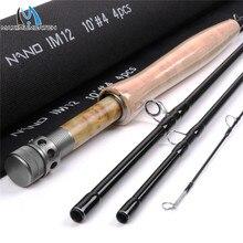 Maximumcatch NANO Nymph 10FT 2/3/4wt нахлыстовая Удочка IM12 графит углеродное волокно быстрое действие нахлыстовая Удочка с трубкой Cordura