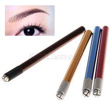 2016 neue Ankunft Professionelle Manuelle Tattoo Permanent Makeup Augenbrauen Stift Manuelle Tattoo Pen Microblading Stift Augenbraue Tattoo Werkzeuge