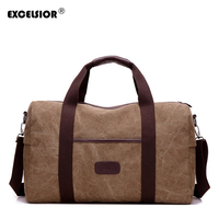 EXCELSIOR Unisex Hand Luggage New Canvas Travel Bag Large Capacity Travel Bags Weekend Bag Women Multifunctional Travel Bag