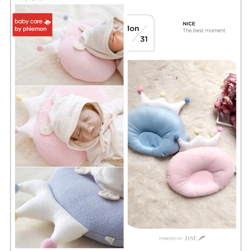 Babycare Baby Pillow Newborn Head Protection Cushion Infant Room Decor Bedding Crib Decor Infant Prevent Flat Head in Pillow from Mother Kids