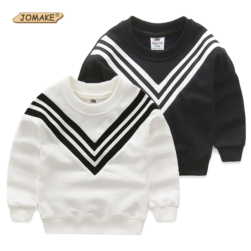Spring Autumn Long Sleeve T-shirt for Girls Striped Boys T Shirts Casual Kids Tops Childrens Sweatshirts Baby Clothing Pullover