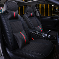 Car Seat Cover Covers Auto Interior Accessories for Dodge Grand Caravan Intrepid Journey Nitro Ram 1500 Stratus