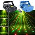 AUCD Portátil Mini RG Proyector Láser Luces DJ Home OI100 Demostración de la Etapa de Iluminación de Navidad Fiesta de navidad