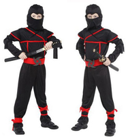 Fantasia Halloween Costumes Cosplay Costume Martial Arts Ninja Costumes For Kids Fancy Party Decorations Supplies Uniforms