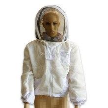 Hot Sales Ultra Breeze Beekeeping Jacket Vented Three Layer Bee suit Half-body Beekeeper Supplies BC-2
