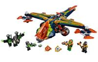 Lepin 14044 638pcs Nexus Knights Aaron's X Bow Building Blocks DIY Educational Bricks Toys gifts for children Compatible 72005