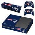 НФЛ New England Patriots Этикета Наклейку Кожи для Microsoft Xbox One Kinect и Консоли и 2 Контроллера Винил Игры Наклейки