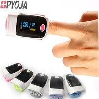GPYOJA Nueva Llegada Pulsómetro Oxímetro de Pulso SPO2 PR con Alarma Automática Relojes Oximetro Salud CE Aprobado POR LA FDA