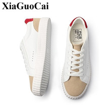 New Canvas Shoes Men White Sneakers Lace-up Casual Shoes Stylish Student Skate Footwear Anti-skid Design High Quality Flat Shoes