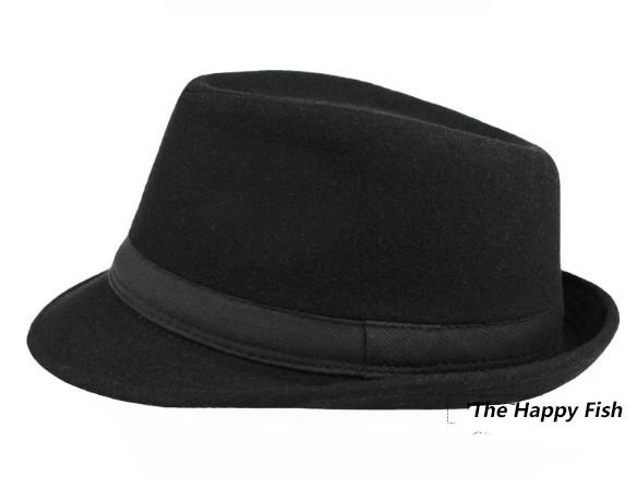 Original Unisex Structured Wool Fedora Hat Fedora hats for men fedora felt hat (6)