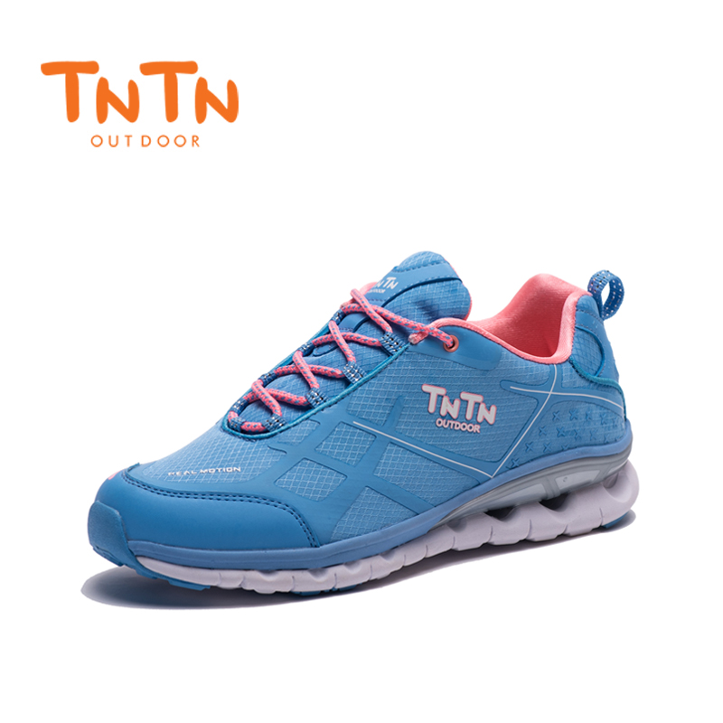 2017 TNTN Outdoor Winter Shoes Breathable Hiking Shoes Mesh Cushioning Off-road Running Leisure Sports Shoes For Women