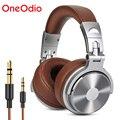 Oneodio наушники для игр с ушками  монитор  наушники с 3 5/6 3 мм аудио разъемом  глубокий бас  Hi-Fi  DJ наушники с стерео микрофоном