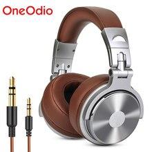 Oneodio Studio DJ Kopfhörer Mit Mikrofon Stereo Tiefe Bass Über Ohr Kopfhörer Mit 3.5/6,3mm Jack für Überwachung aufnahme