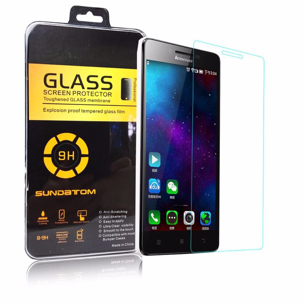 SUNDATOM For Lenovo K3 NOTE Screen Protector K3-note K50-T5 Premium Tempered Glass 0.2mm Anti-Explosion anti-Shatter