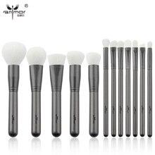 Anmor Professional Makeup Brushes 12 pcs Synthetic Makeup Up Brushes Soft Powder foundation Eyeshadow Eyeliner Eyebrow Kit