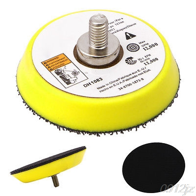 Polishing Sander Backer Plate Napping Hook Loop Sanding Disc Pad 2