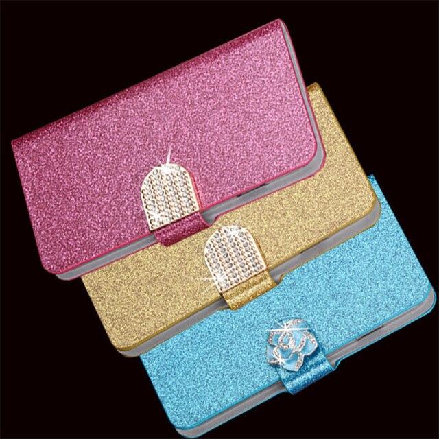 Hot Diamond Flash Capa Cover For Samsung Galaxy Note 5 SM-N920F N920 Case Flip PU Leather Book Protector Coque Fundas