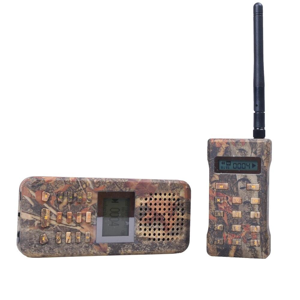 Extérieur chasse oiseau appelant lecteur MP3 avec télécommande oie canard oiseaux son appelant haut-parleur chasse leurre