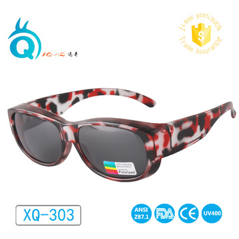 NEWEST Polarized Lens Covers Sunglasses Fit Over Prescription Glasses Adults sun glasses Suitable mountaineering driving glasses