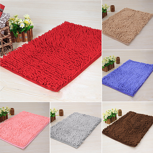 Soft Shaggy Area Rug Dining Room Home Bedroom Carpet Anti-Skid Useful Floor Mat