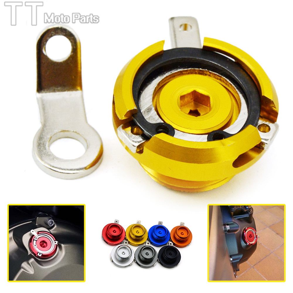 CNC m20*2.5 Cover Screw Engine Oil Filler Cap for Honda CBR1000RR ABS CBR 1000 RR CBR600RR 600 Interceptor 800