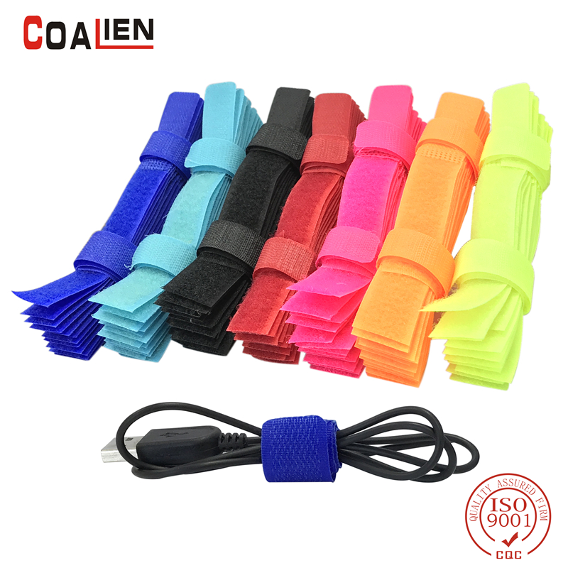 COALIEN 10pcs/50pcs Colored Cable Winder Wire Organizer Cable Earphone Holder Cord Wire Management Cable Protector iskybob 5pcs key cord cable organizer winder earphone headphone wrap winder wire holder page 8