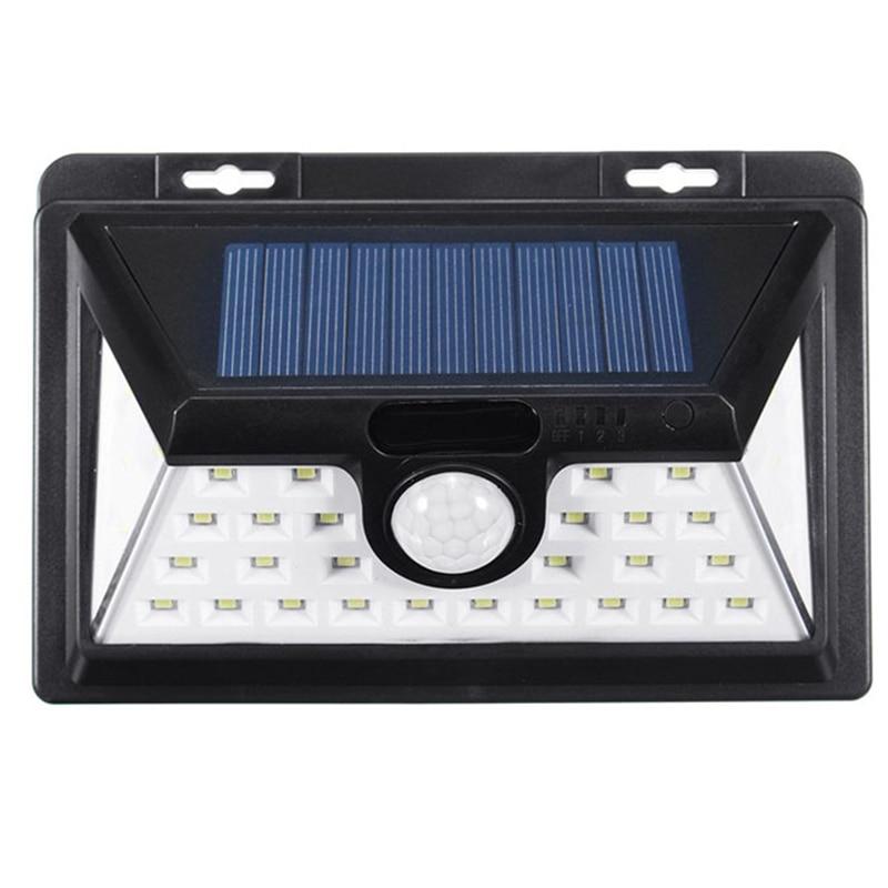 Led Solar Lights Outdoor Motion Sensor Security Wall Lamp Waterproof Energy Saving Light For Garden Yard Lighting