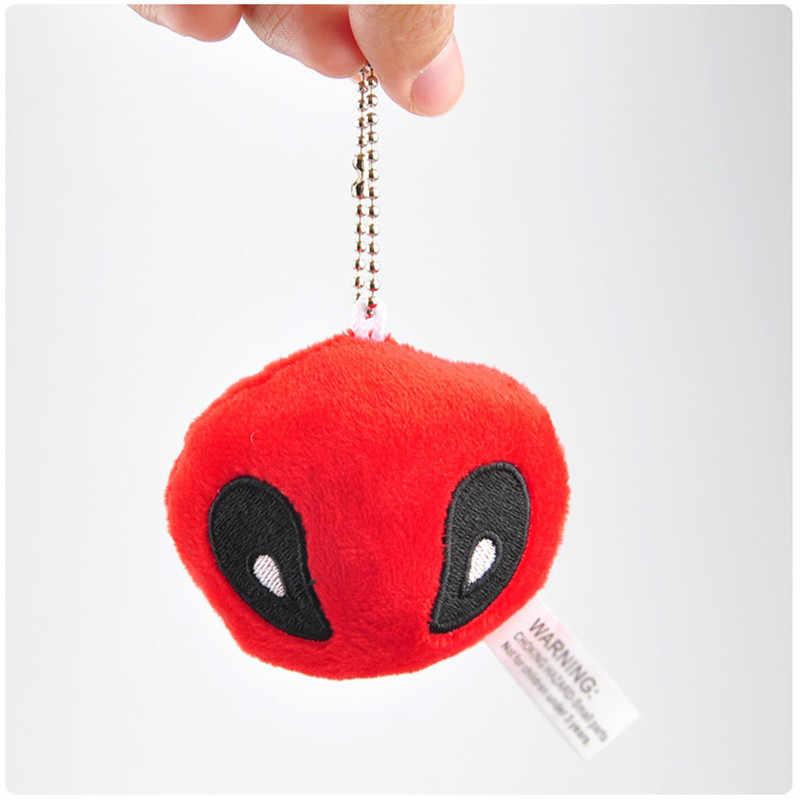 X-Men Filme & TV Super Heróis Deadpool Deadpool Brinquedos de Pelúcia Saco Chave Pingentes Bonecas Cosplay Presente Relativo À Promoção 10 pçs/lote 7 cm