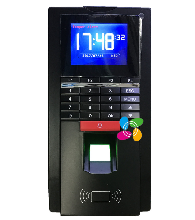 Reanland MF131 & 125Khz RFID  Fingerprint  Access Control Fingerprint Time Attendance With TCP/IP FreeSoftware