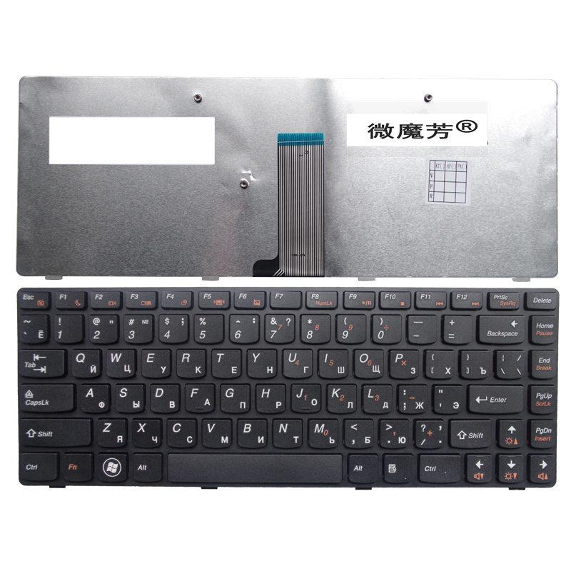 RU For LENOVO G405G G480 G485 Z380 Z480 Z485 G410 G490 G400 G405 G410 Laptop Keyboard Russian New Black jigu laptop battery l11l6y01 l11s6y01 for lenovoy480 y480p y580nt g485a g410 y480a y580 g480 g485g z380 y480m