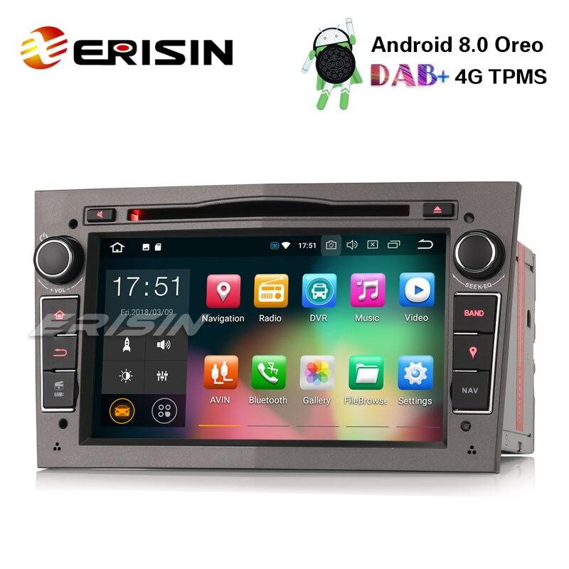 erisin es7860pg 7 android 8 0 dab car radio dvd tpms 4g