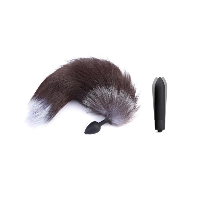 anal fox tail
