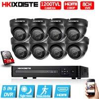 8CH CCTV System 1080p HDMI AHD 8CH CCTV DVR 8PCS 1 0 MP IR Security