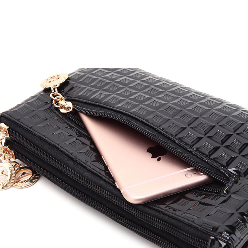 YBYT brand 2019 vintage casual women envelope clutch diamond pack small top handle bag ladies shoulder messenger crossbody bags in Clutches from Luggage Bags