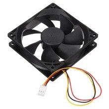 3 Pin 90mm 25mm Cooler Fan Heatsink Cooling Radiator For Computer PC CPU 12V