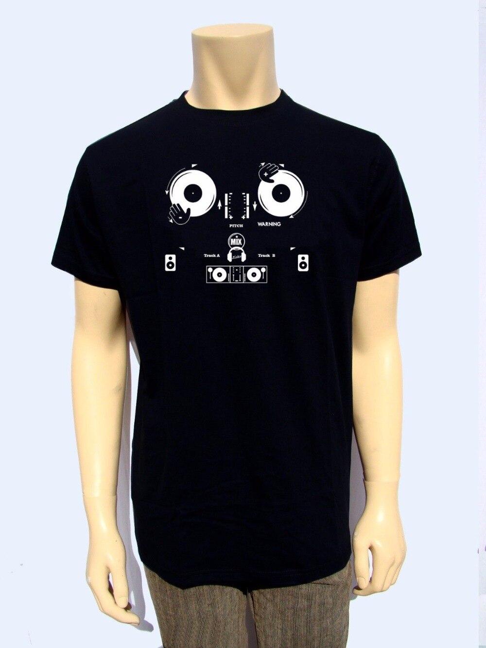 932555f0e2b85 Adultos casual camiseta giratoria pitch mens shirt camisa jpg 1000x1333  Camisetas de djs